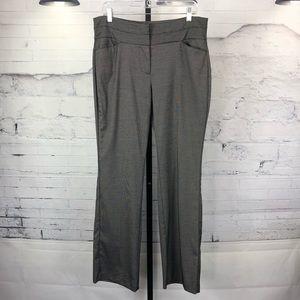 ELLE Patterned Dress Trouser Front Pockets 1516